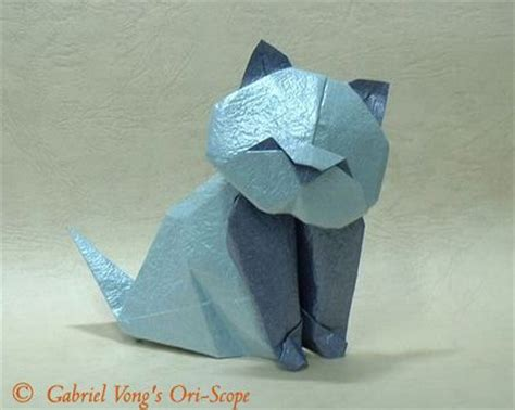 Origami Cat Ears - 25 b 228 sta origami cat id 233 erna p 229 origami och