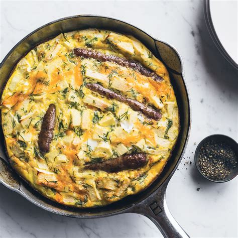 Link Scrumptious Frittata by Sausage And Apple Frittata With Dill Recipe Chun