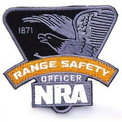 Nra Range Safety Officer by Sew On Range Safety Officer Patch