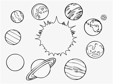 Solar System Coloring Pages To Download And Print For Free Coloring Pages Of Solar System
