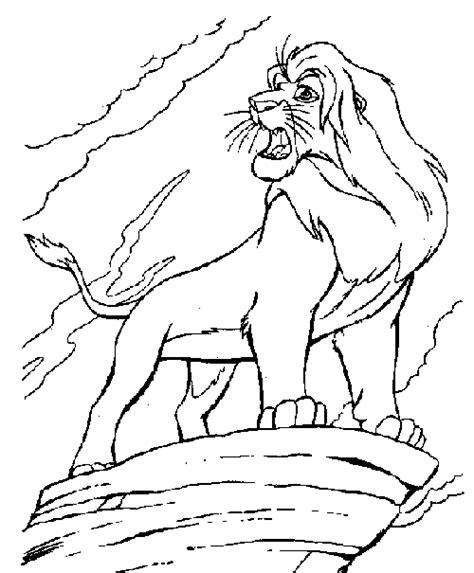 imagenes leones llorando dibujos del rey le 243 n para pintar im 225 genes para pintar