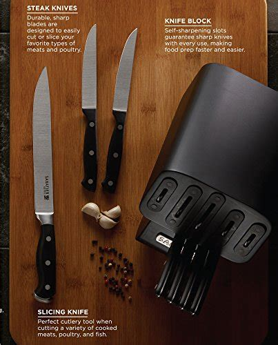 sabatier classic forged triple riveted chef knife ebay sabatier self sharpening edgekeeper pro 12 piece forged
