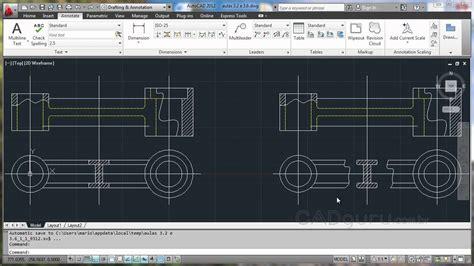 Rupturas e Seções - Curso Desenho Técnico Mecânico - Aula