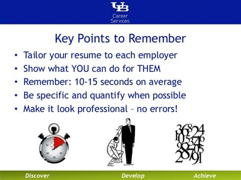 Key Points In Resume by Resume Key Points