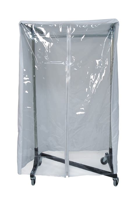 quality fabricators 174 heavy duty cover for 3 garment rack