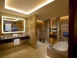Luxury Bathroom Lighting Luxury Hotel Bathroom Ideas
