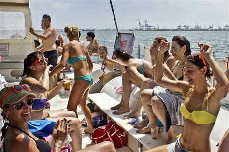 catamaran lunch cruise valencia valencia spain valencia boat party from 31