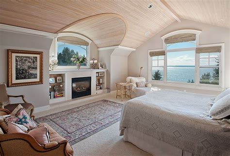 cottage master bedrooms cottage master bedroom with cement fireplace by shawn filer zillow digs zillow
