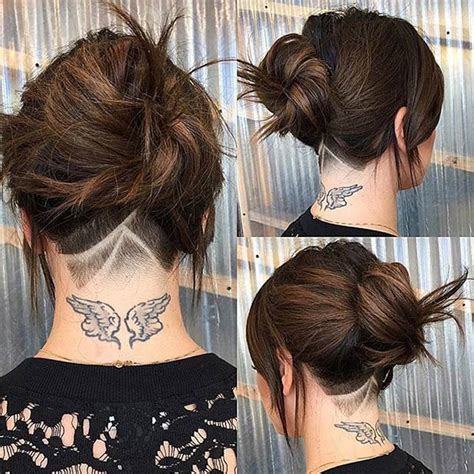 small undercuts women 16 edgy chic undercut hairstyles for women styles weekly