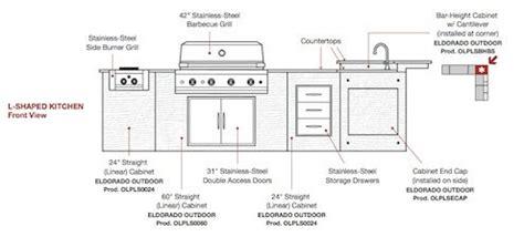 U Shaped Kitchen Layouts With Island outdoor kitchen kits bob vila