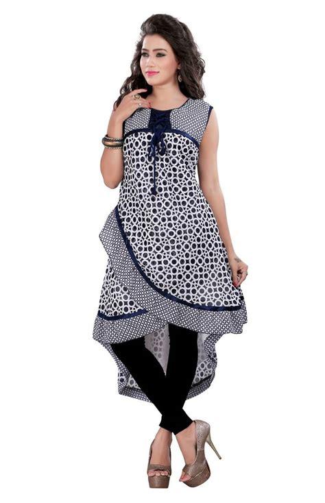 umbrella pattern kurtis buy navy blue printed georgette umbrella style kurti online