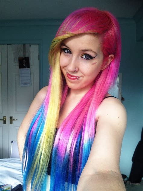 pink blue and purple ombre hair blue hair pictures chic hair styles pink blue