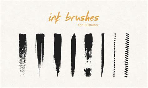 adobe illustrator cs6 brushes free download freebie ink pen brushes for illustrator dreamstale