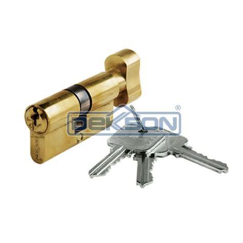 Silinder Cylinder Kunci Pintu Almini Aluminium jual cylinder door lock dekkson tc dl 70 mm kunci pintu silinder thumbturn putar dekson 70mm
