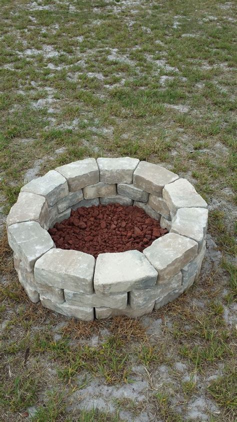 Do It Yourself Fire Pit Easy Cheap Fire Pit Diy Patio Pit