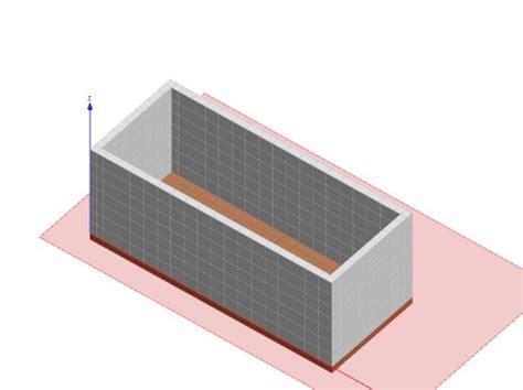 vasca interrata progetto di vasca interrata per alloggiamento serbatoio