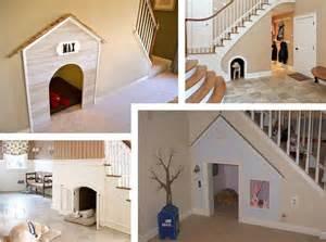 Under the stairs indoor dog house pet sitter dog walker weddington