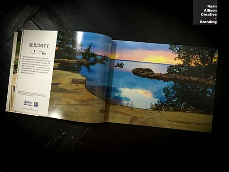landscape book layout print digital layouts ryan allison creative branding