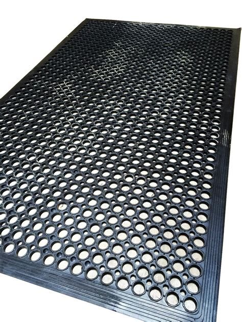 large rubber mat industrial entrance flooring heavy duty