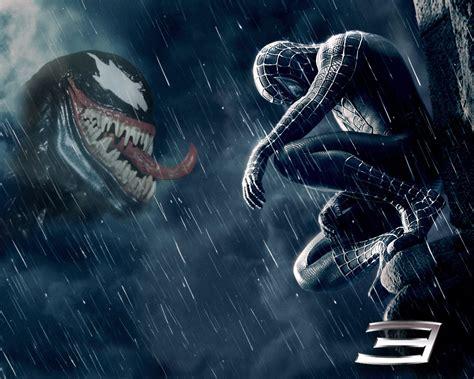 black spiderman spiderman fan 3 movie wallpaper