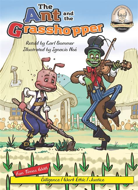 the ant and the grasshopper picture book the ant and the grasshopper children s book council