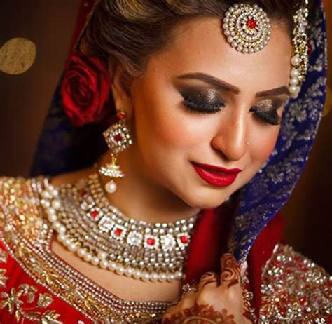 Wedding Hair And Makeup Dubai by Best Bridal Makeup Artist In Dubai Saubhaya Makeup
