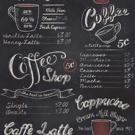 Home Decor International rasch coffee shop wallpaper 234602 cut price wallpaper