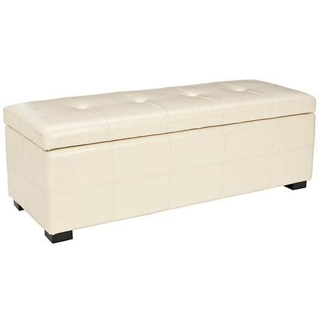 Large Storage Bench by Safavieh Maiden Tufted Large Storage Bench Flat