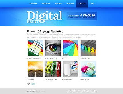 Print Shop Website Template 40305 Print Shop Web Template
