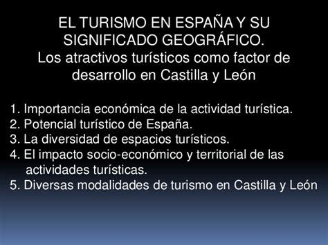 themes significado en español tema 16 el turismo en espa 209 a y su significado geogr 193 fico