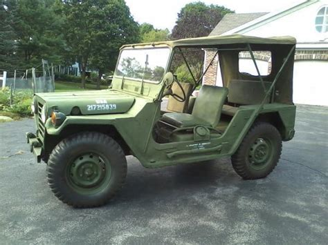 Army Jeep For Sale 1968 Ford M151 Army Jeep For Sale Photos