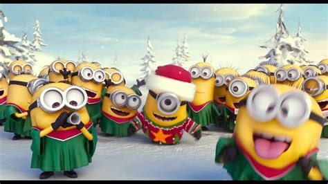 minions merry christmas  happy  year youtube