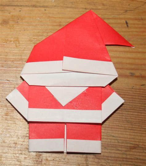 tutorial origami natalizi lavoretti per natale babbo natale origami lapappadolce