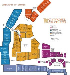 outlet california map citadel outlets newsland