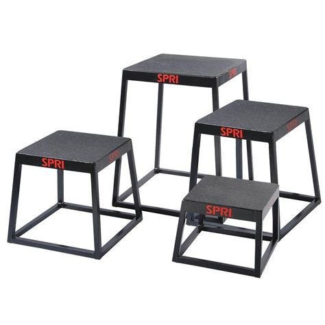 Stool After Exercising by Spri Plyo Jumping Fitness Boxes Jumping