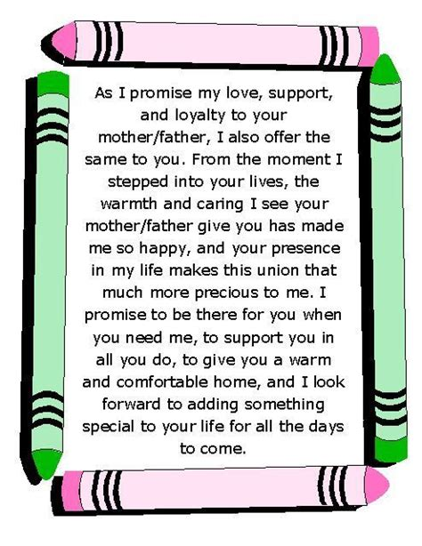 Wedding Vows For Blended Families by 213 Best Wedding Vows Images On Happy Wedding