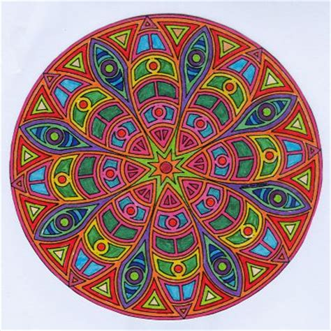 imagenes de simbolos hindues mandalas significado variedades y para algunas colorear