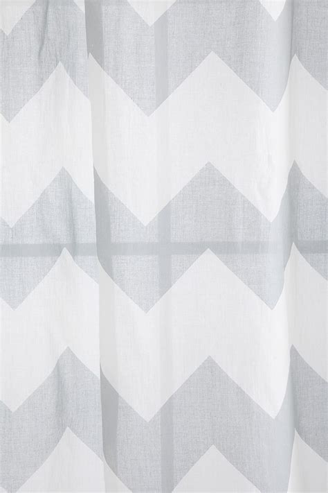 Grey And White Chevron Curtains Grey And White Chevron Curtain Live Pinterest
