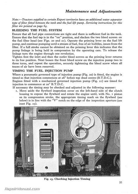 Fordson Dexta / Super Dexta Operators Manual