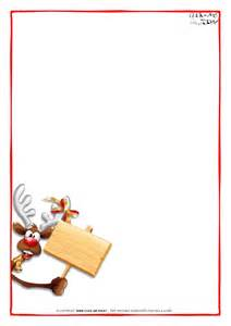 Letter Paper Template by Printable Letter To Santa Claus Blank Paper Template