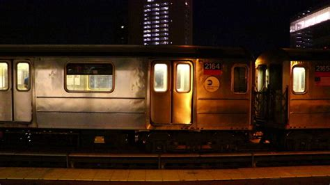 ferry bound video mta new york city subway south ferry bound r62a 1 train