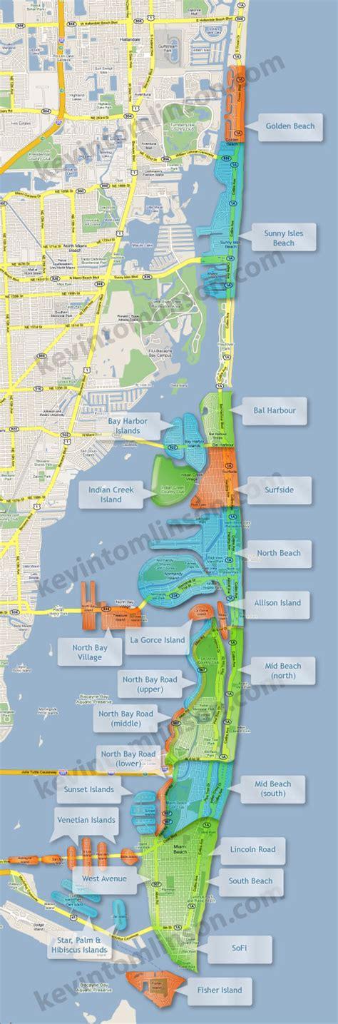 South Neighborhoods Miami Neighborhood Map South Condos