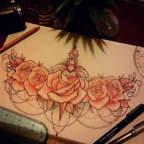 tattoo cover up on breast best 25 rose chest tattoo ideas on pinterest flower