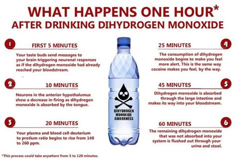 dihydrogen monoxide funny are you aware about dangers of this harmful chemical