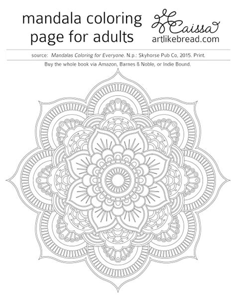 mandala coloring pages download art like bread free mandala coloring pages to download