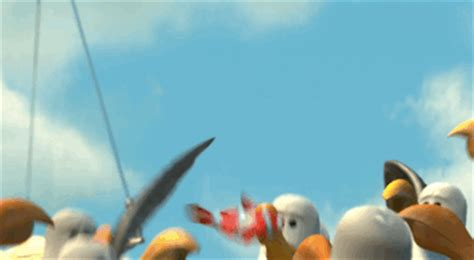 Finding Nemo Seagulls Meme - when everyone wants to copy your homework animated gif