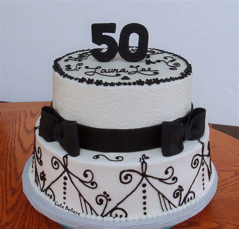 black pattern cake birthday cakes images superb fantastic 50th birthday