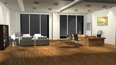 create room design sajid designs office room 3d interior design 3ds max