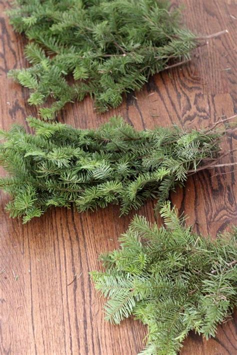 how to fix christmas tree branches how to make a wreath in half an hour for free