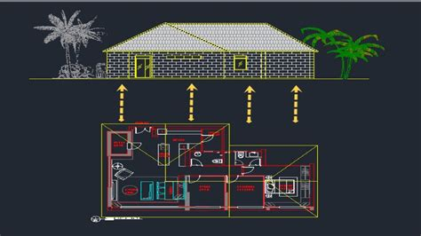 autocad tutorial house design elevation autocad tutorial draw elevation from floor plan lesson